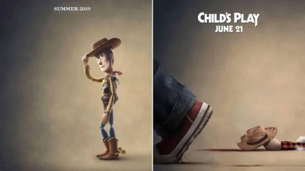 Nowy plakat Child's Play z martwym bohaterem Toy Story