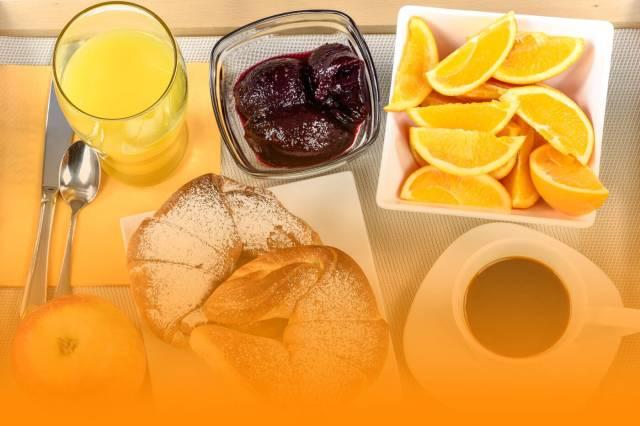 Śniadanie Orange