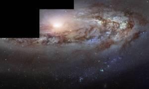 Hubble obserwuje intrygującą galaktykę