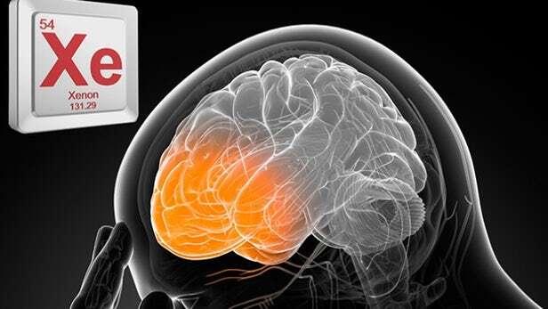 ksenon, mózg ksenon, TBI ksenon, uszkodzenie mózgu ksenon, TBI, urazowym uszkodzeniem mózgu