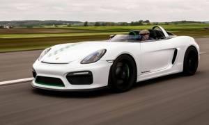 Porsche stworzyło Boxster Bergspyder, aby uczcić swoje zwycięstwo