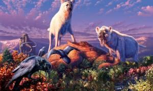 Podczas epoki lodowcowej Ziemię zamieszkiwały ogromne hieny