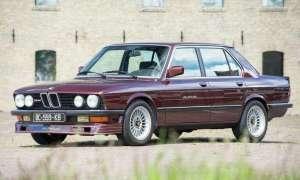 """Alpina B9 z 1983 była """"tamtejszym"""" sportowym sedanem"""
