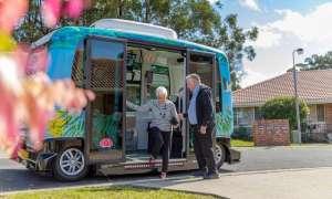 Autonomiczny EZ10 od EasyMile zawitał do Australii