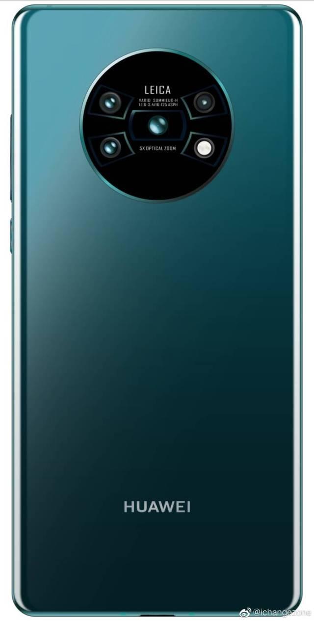 Huawei Mate 30, tył Huawei Mate 30, design Huawei Mate 30, wygląd Huawei Mate 30, aparaty Huawei Mate 30, moduł Huawei Mate 30, porsche Huawei Mate 30, porsche 911 Huawei Mate 30