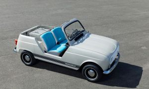 Renault ujawnił elektrycznego E-Plein Air