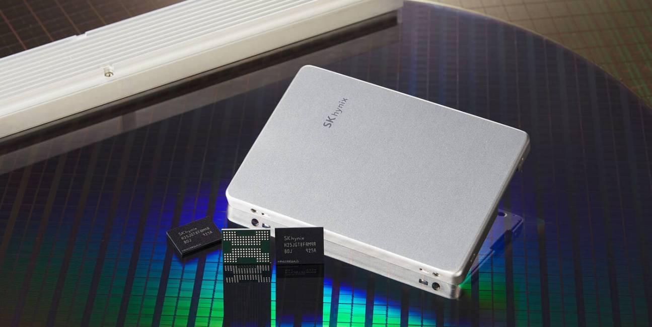 Pierwsze na świecie 128-warstwowe pamięci NAND 4D