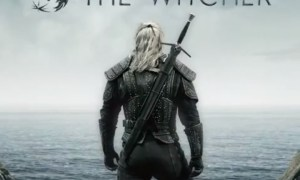 Oficjalny plakat serialu Wiedźmin i zdjęcia najważniejszych postaci
