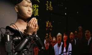 Android głosi buddyjskie prawdy w japońskiej świątyni