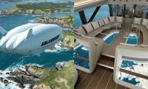 Airlander 10 jest praktycznie latającą rezydencją