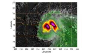 Jak wygląda huragan Dorian z perspektywy satelity?