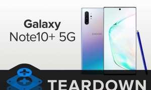 Samsung nie żałował kleju w Galaxy Note10+ 5G