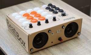 Stwórz sam perkusję z kartonu w ramach Beatbox od Rhythmo