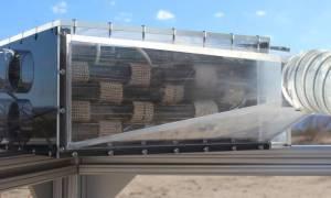 Ten kolektor zamienia suche powietrze w wodę