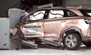 Napędzany ogniwami wodorowymi Hyundai Nexo w testach IIHS