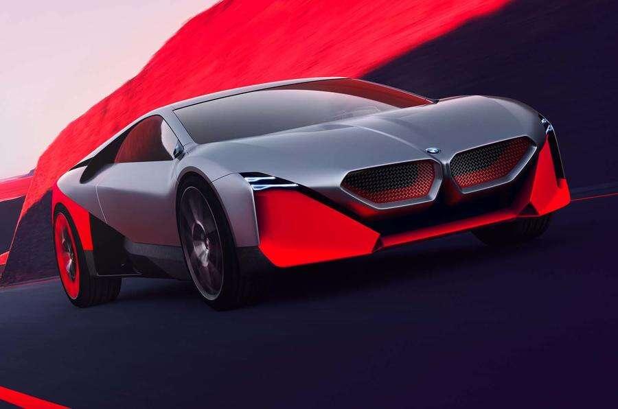 Vision M Next, czyli dwumiejscowa sportowa hybryda w wizji BMW