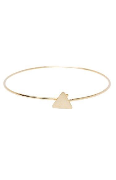 Elk Prism Bangle in gold, $35 from www.elkaccessories.com/au/
