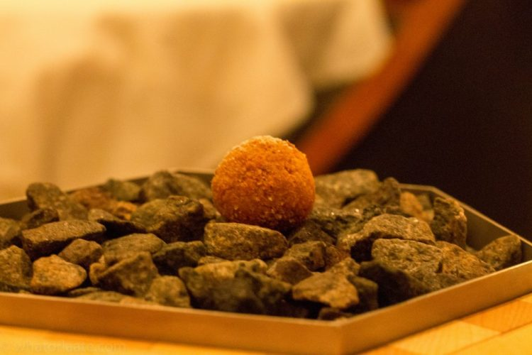 Eleven Madison Park - Beignet with Black Truffle