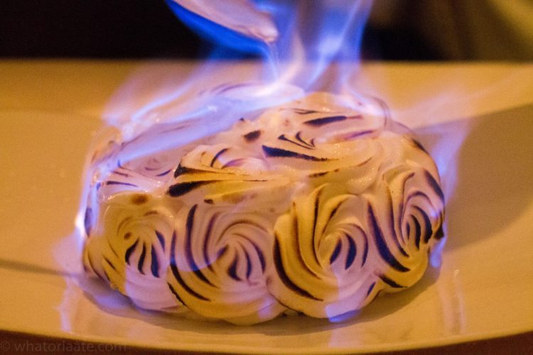 Eleven Madison Park - Baked Alaska - Citrus, Vanilla and Rum