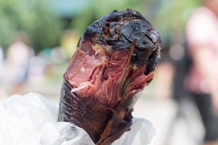 Smoked Turkey Leg from Universal Studios