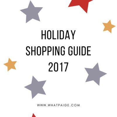 Holiday Shopping Guide | 2017