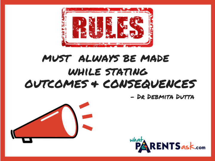 Rules must state outcomes and consequences