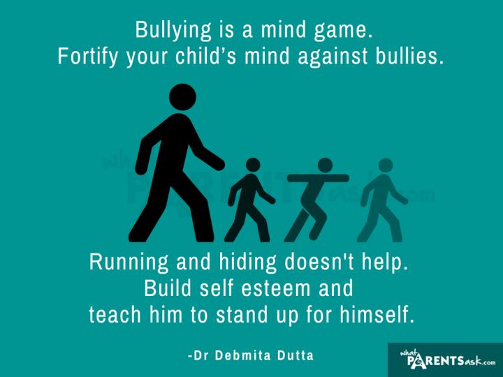 bullying in schools build your child's self-esteem