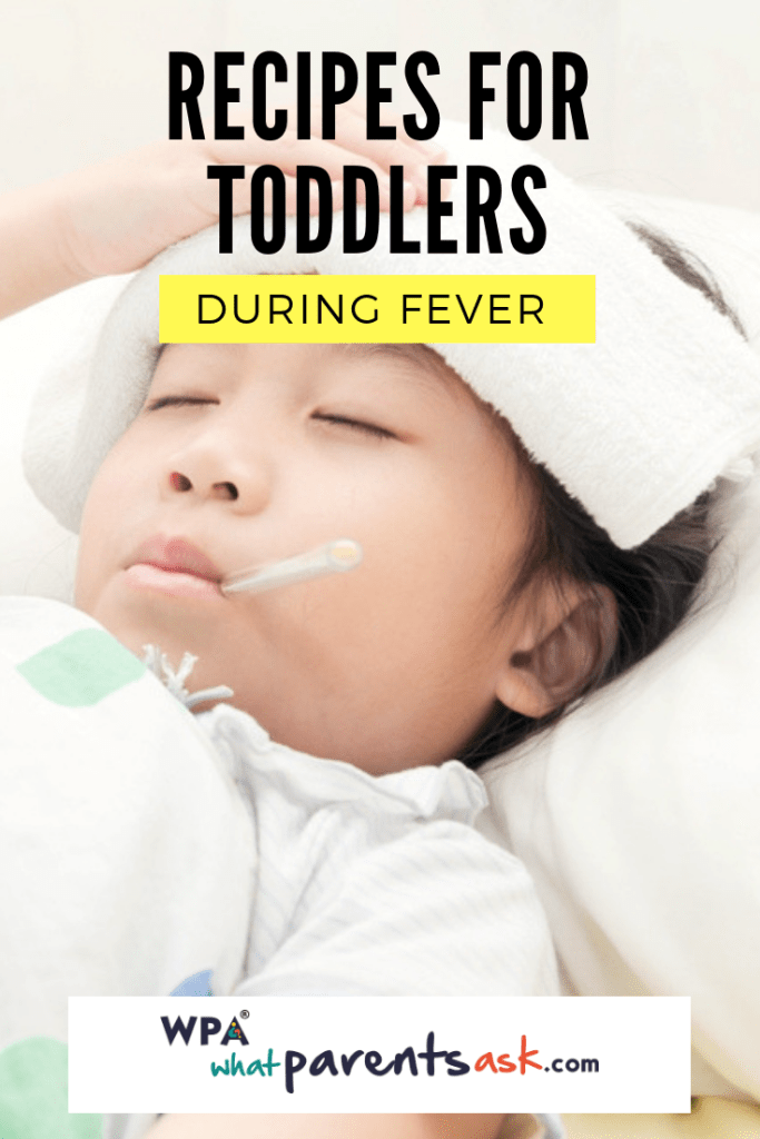 recipes for toddlers during fever
