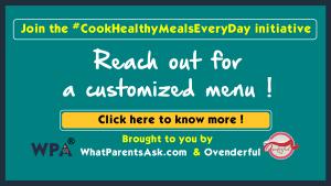 customised healthy indian weekly meal plan