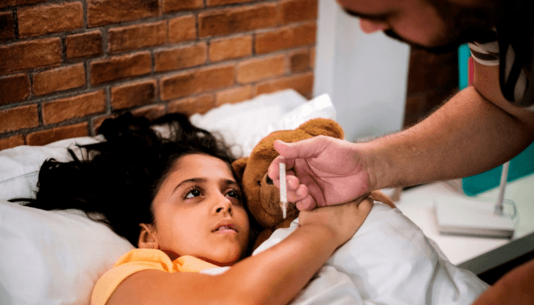what is the duration of viral fever in children