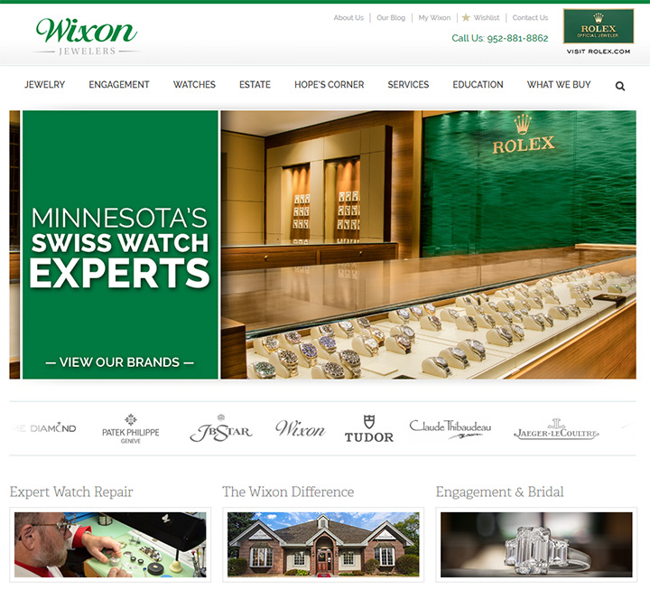 100 Jewelry Amp Jeweler Websites For Design Inspiration