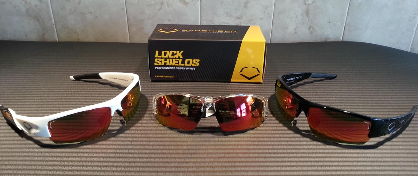 Evoshield Evolock Sunglasses White, Clear, Black