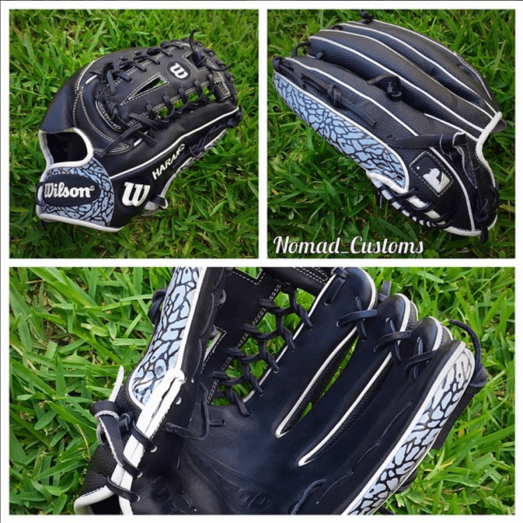 Aaron Harang Glove by Nomad Customs