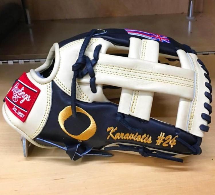 @shark_karaviotis24 Oregon Rawlings Glove