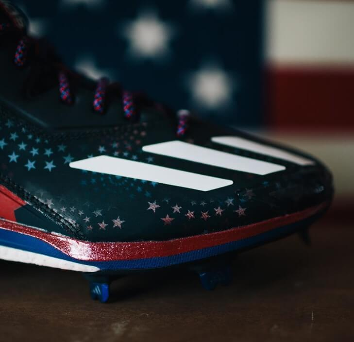 adidas Stars and Stripes Boost Icon 2.0 Cleats