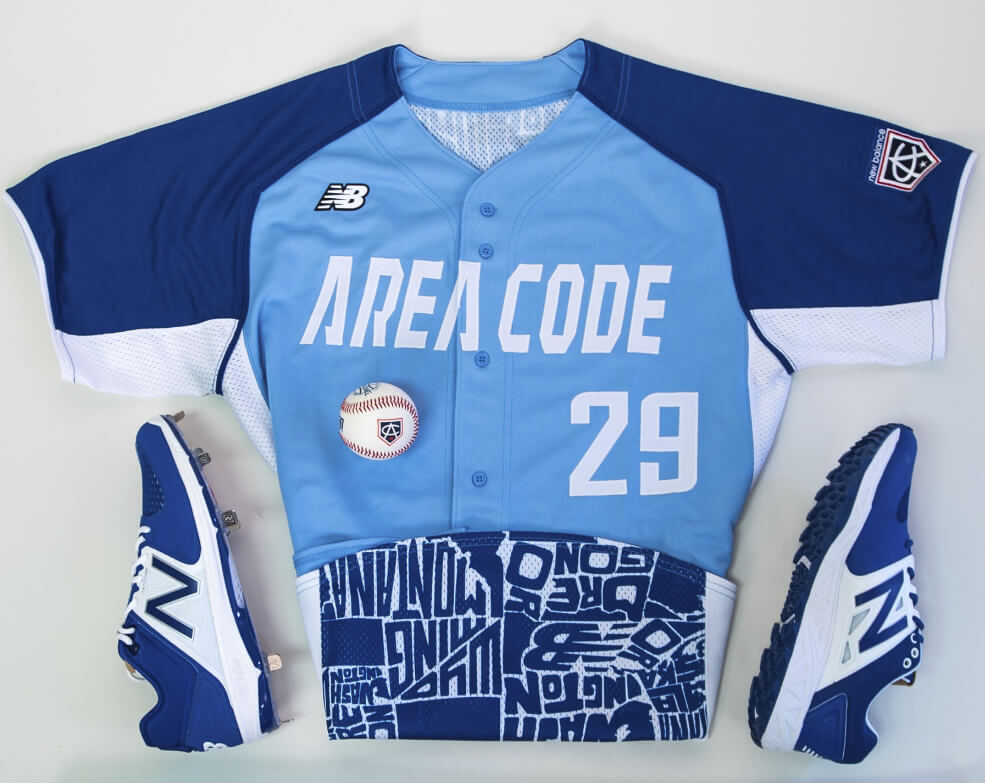Royals Jerseys Area Code Games