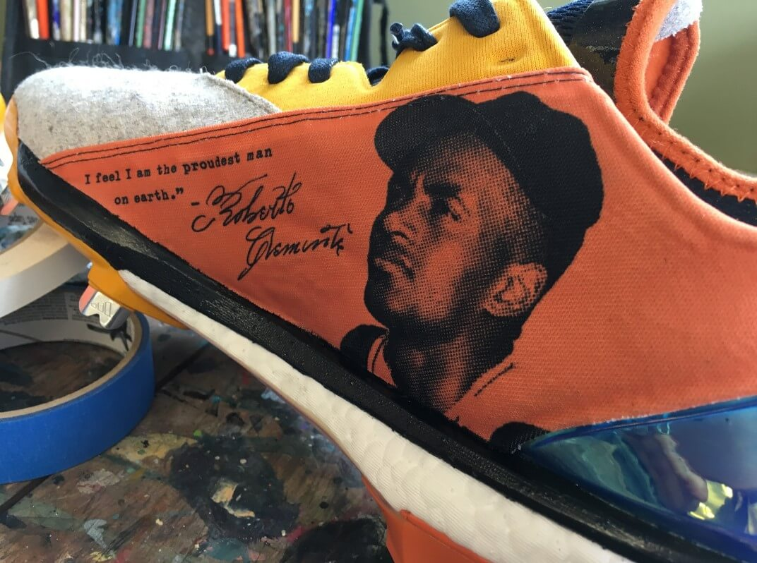 Roberto Clemente Day Cleats 2