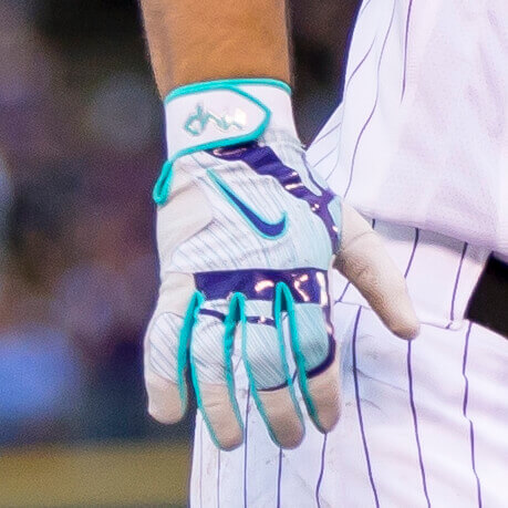 Nolan Arenado Mint Batting Gloves