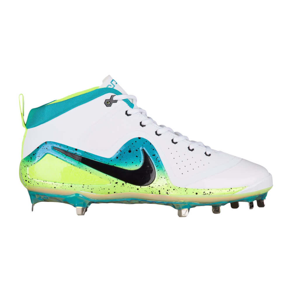 794d5e1ddb4 What Pros Wear  Mike Trout s Nike Zoom Trout 4 Cleats