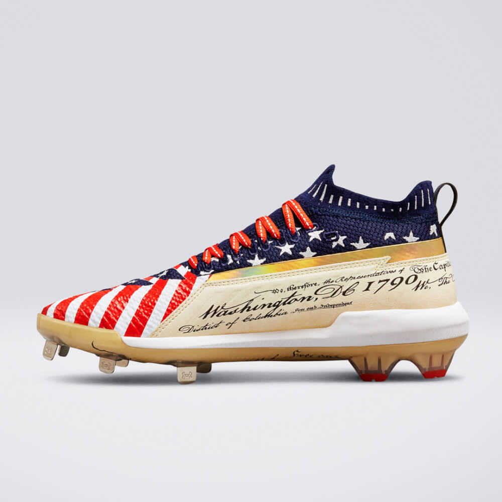 aca4b862a7aa What Pros Wear: Updated: Bryce Harper Cleat Heat for All-Star Week ...