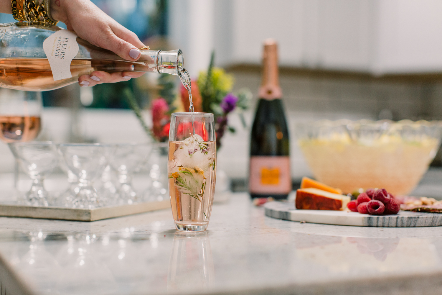 Roses and Rosé: How to Throw an Insta-Worthy Wine Party