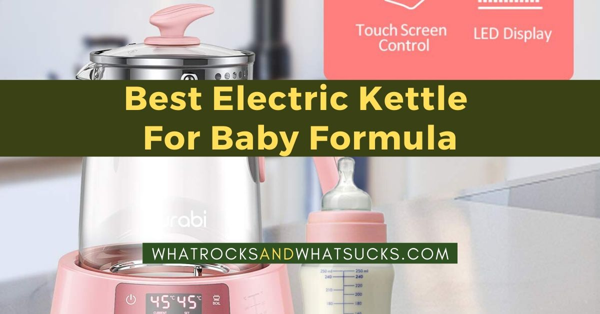 ELECTRIC KETTLE FOR BABY FORMULA