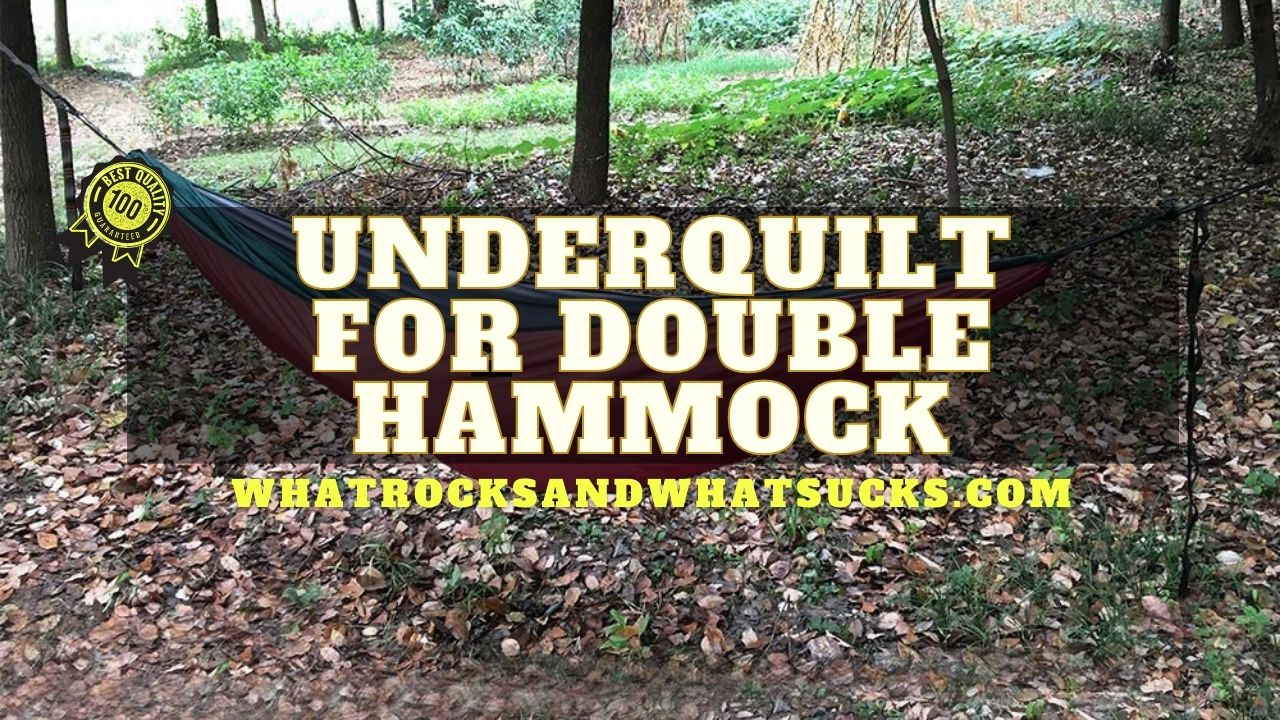 UNDERQUILT FOR DOUBLE HAMMOCK