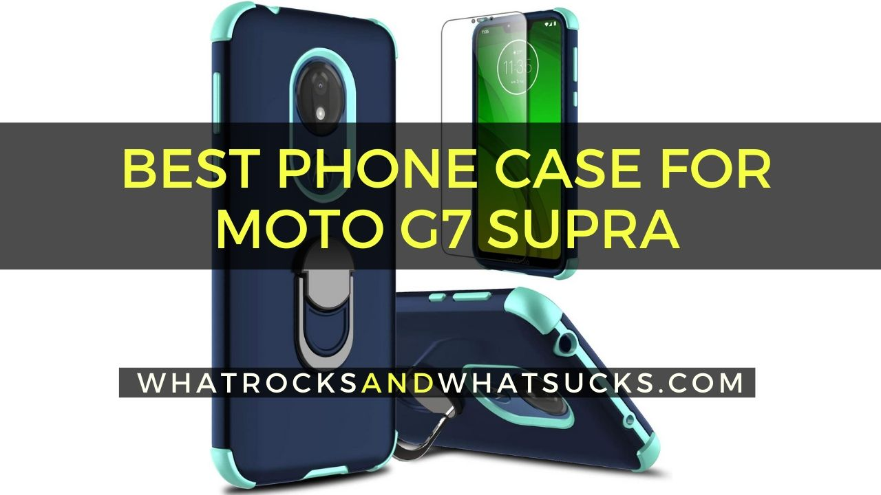 PHONE CASE FOR MOTO G7 SUPRA