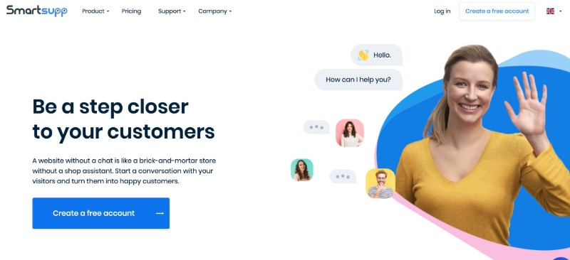 Smartsupp - Live Chat Software for Customer Service