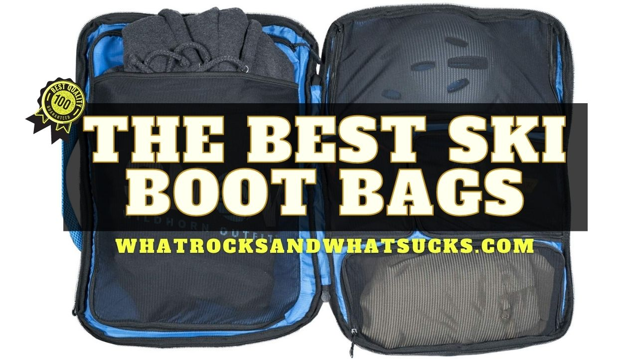 THE BEST SKI BOOT BAGS
