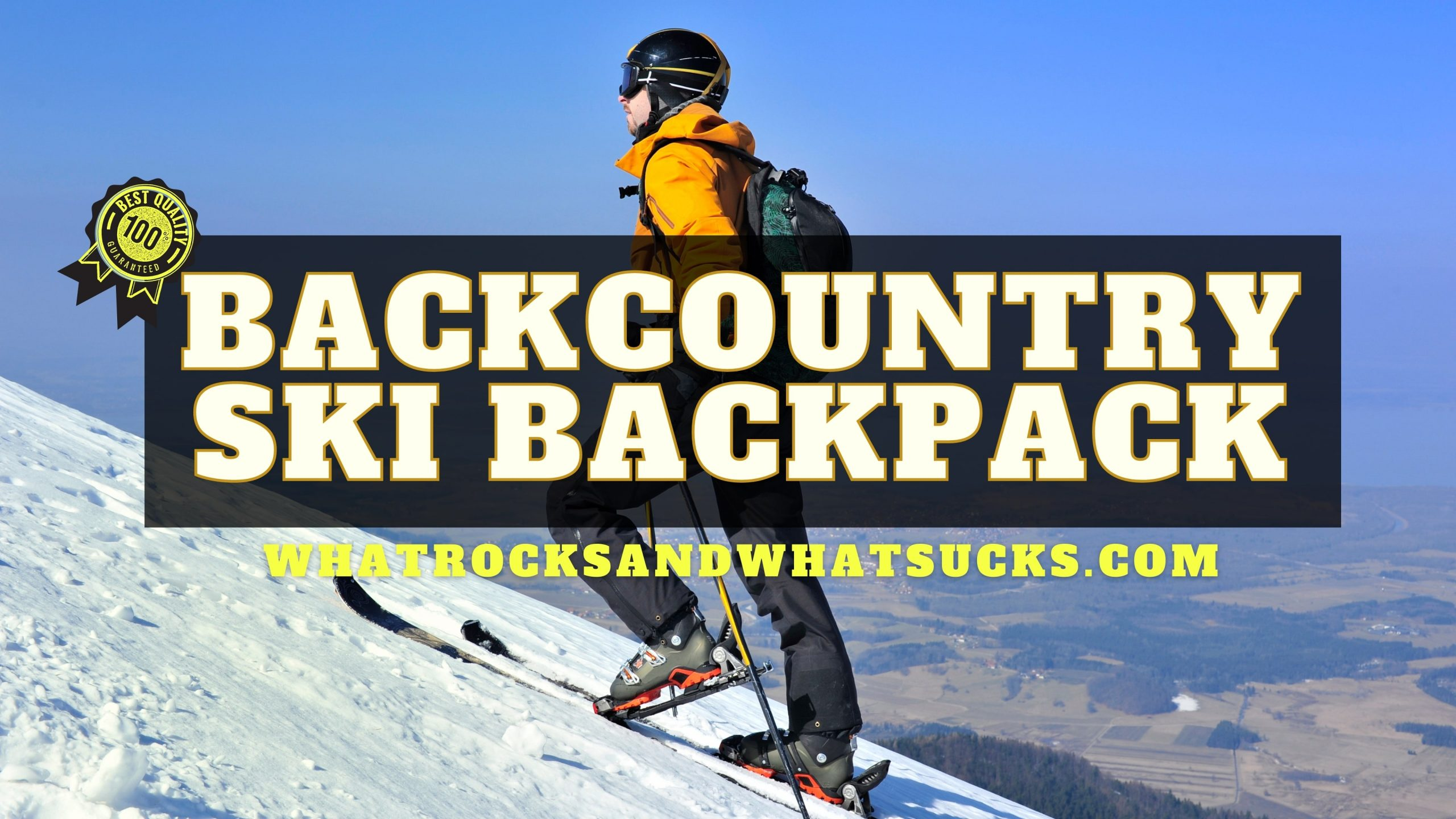 THE BEST BACKCOUNTRY SKI BACKPACK