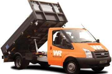 waste management collection truck