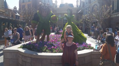 Beauty and The Beast garden.