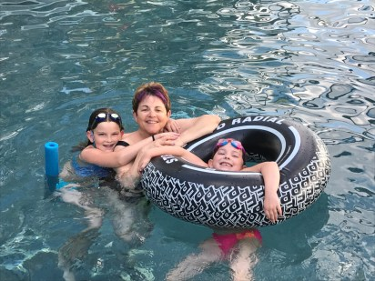 Floating with Bubbe
